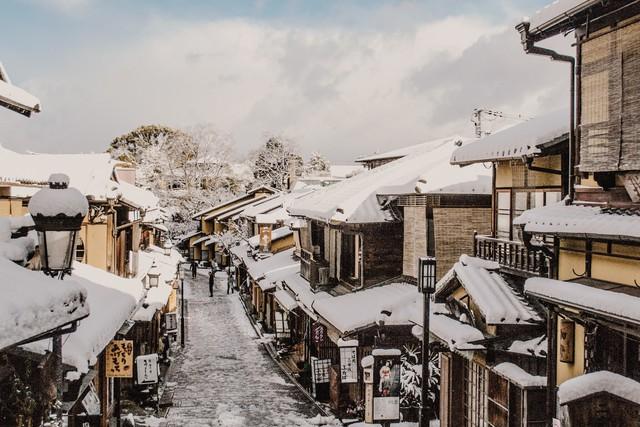 Kyoto mùa đông: cảnh đẹp cố đô chìm trong tuyết trắng - Ảnh 23.