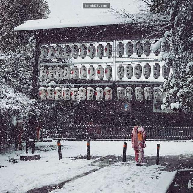 Kyoto mùa đông: cảnh đẹp cố đô chìm trong tuyết trắng - Ảnh 8.