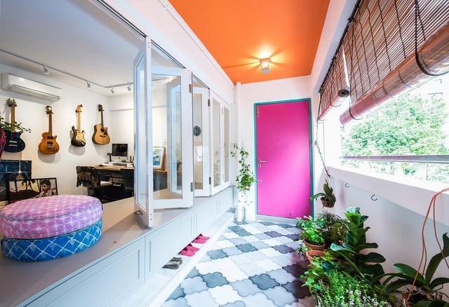 7 ý tưởng nội thất cho người thích màu cam - Ảnh 2.