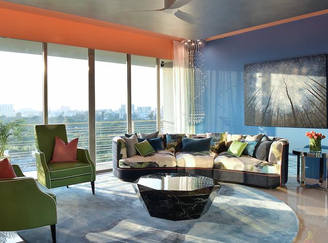 7 ý tưởng nội thất cho người thích màu cam - Ảnh 5.