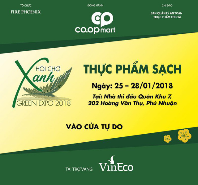 Green Expo 2018 – Hội chợ hàng tiêu dùng xanh, sạch, an toàn cho sức khoẻ gia đình - Ảnh 1.