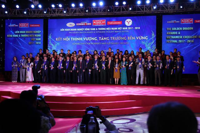 Tuấn Minh Land vinh dự nhận giải thưởng Thương hiệu mạnh Việt Nam 2017 - 2018 - Ảnh 1.