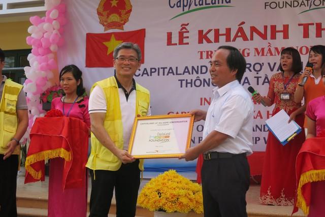 CapitaLand xây trường mẫu giáo Lệ Xá CapitaLand Hope  - Ảnh 1.