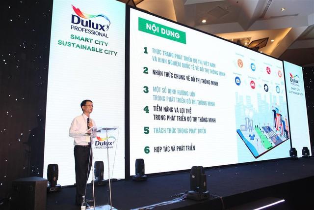 Dulux ra mắt sản phẩm mới hướng đến đô thị thông minh bền vững - Ảnh 3.