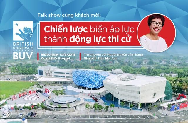 Talk show Biến áp lực thành động lực thi cử với người lọt top 50 phụ nữ ảnh hưởng nhất tại Việt Nam - Ảnh 1.