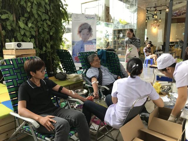 CapitaLand và Ascott tổ chức hiến máu nhân đạo lần thứ 12 - Ảnh 1.