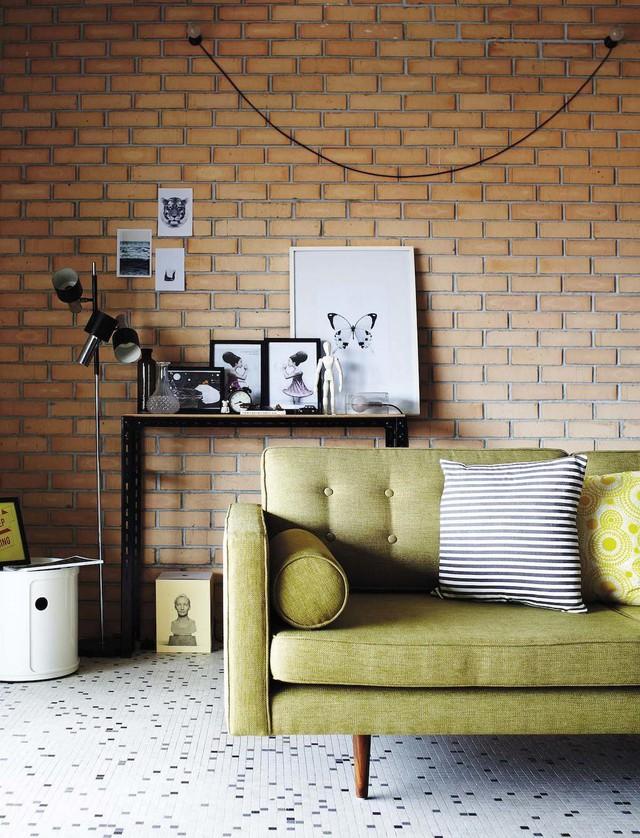 Ngôi nhà 2 tầng nhỏ xinh mang phong cách retro - Ảnh 2.