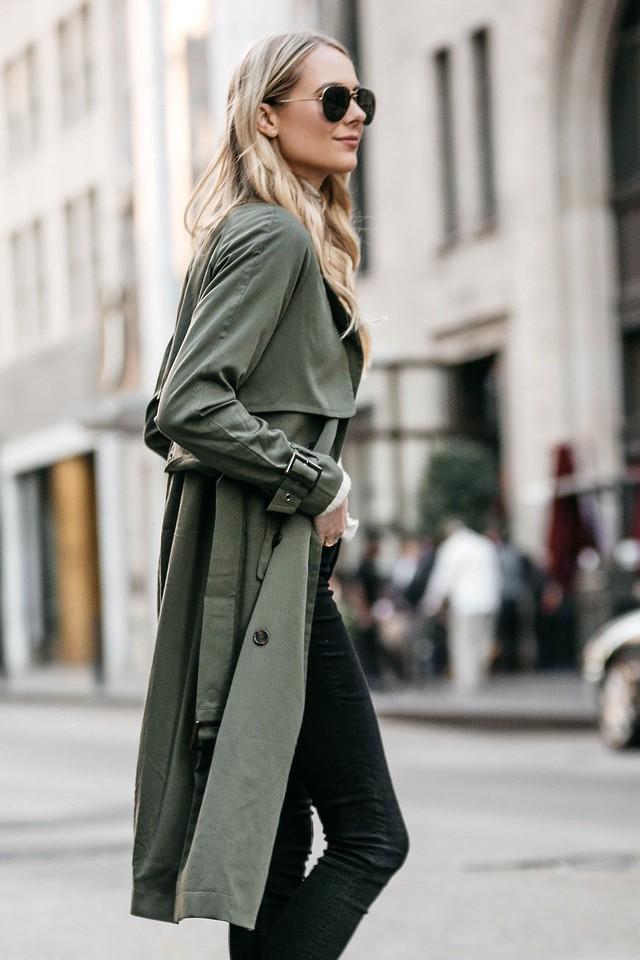 Trench coat: nhất định phải có trong mùa đông - Ảnh 1.