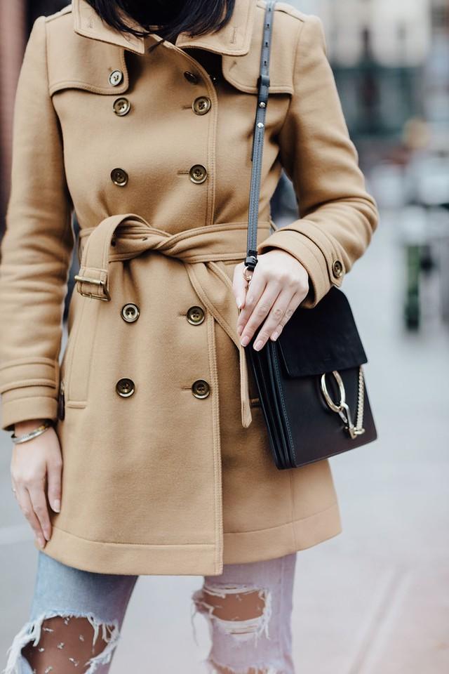 Trench coat: nhất định phải có trong mùa đông - Ảnh 8.