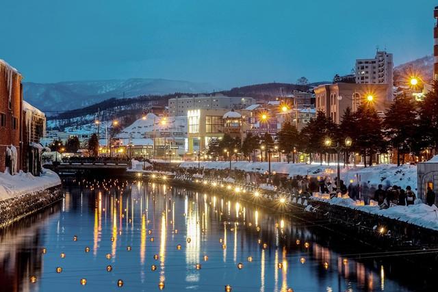 Đến Hokkaido ngắm lễ hội ánh sáng Otaru - Ảnh 3.