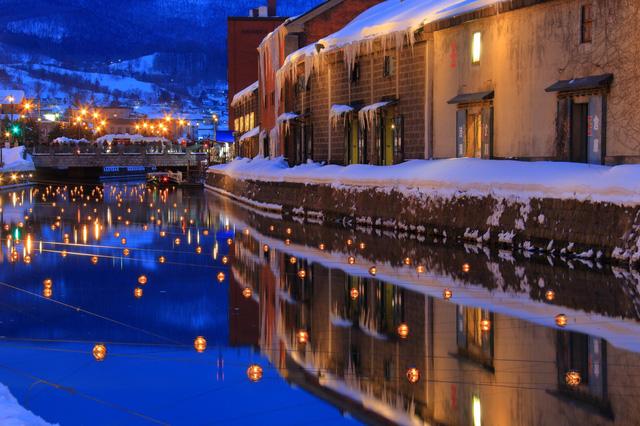 Đến Hokkaido ngắm lễ hội ánh sáng Otaru - Ảnh 4.