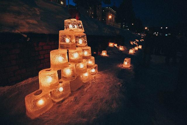 Đến Hokkaido ngắm lễ hội ánh sáng Otaru - Ảnh 5.