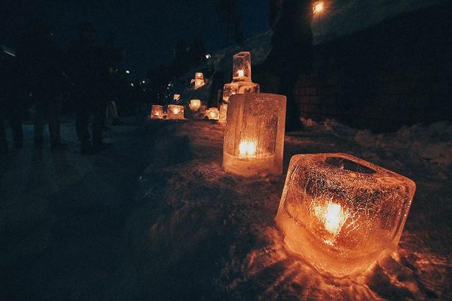 Đến Hokkaido ngắm lễ hội ánh sáng Otaru - Ảnh 11.