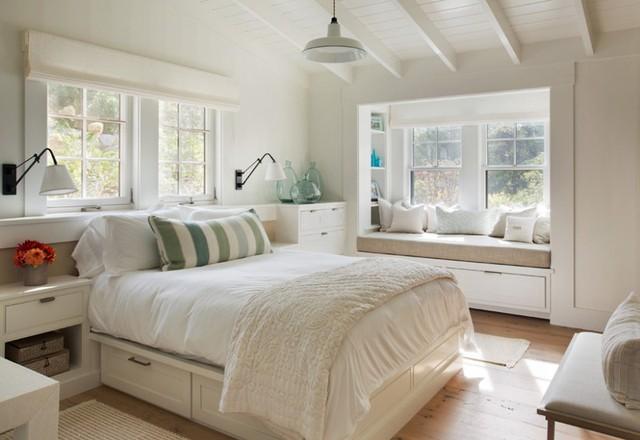 12 kiểu ghế bên cửa số tuyệt đẹp dành cho phòng ngủ - Ảnh 1.