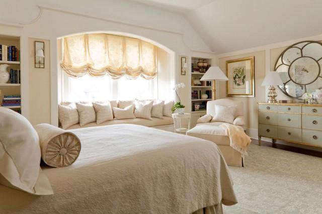 12 kiểu ghế bên cửa số tuyệt đẹp dành cho phòng ngủ - Ảnh 3.