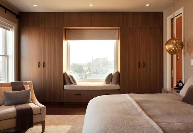 12 kiểu ghế bên cửa số tuyệt đẹp dành cho phòng ngủ - Ảnh 4.