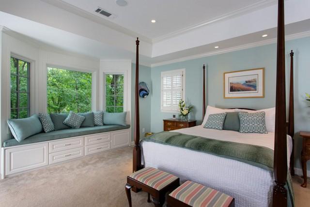 12 kiểu ghế bên cửa số tuyệt đẹp dành cho phòng ngủ - Ảnh 5.