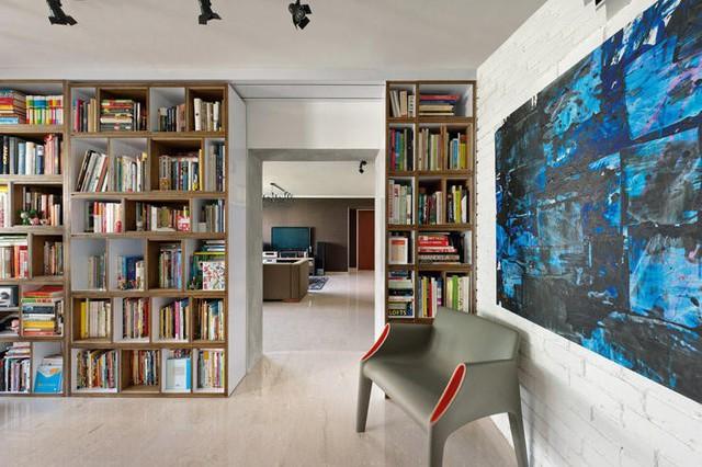 6 ý tưởng cho thư viện mini tại nhà - Ảnh 2.