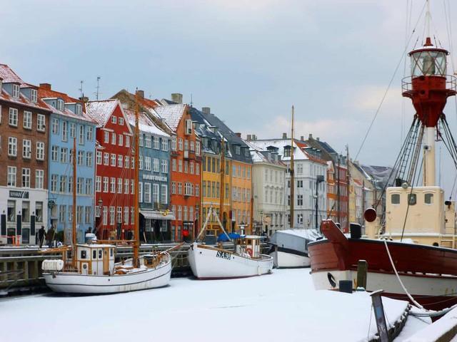 Ngắm Copenhagen vào một ngày mùa đông - Ảnh 1.