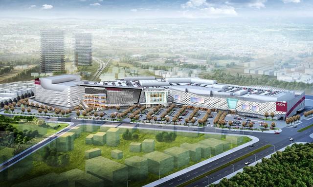 Aeon Mall Hà Đông chuẩn bị đi vào hoạt động - Ảnh 1.