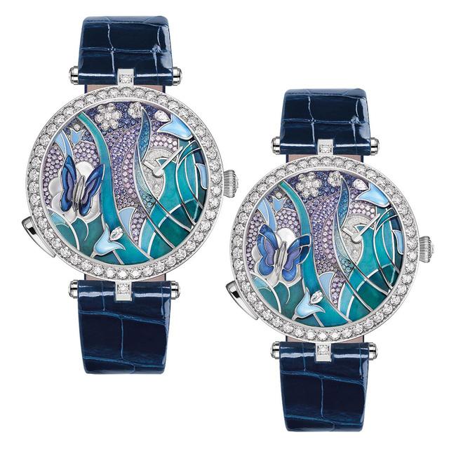 Van Cleef & Arpels: những kiệt tác đồng hồ trang sức - Ảnh 1.