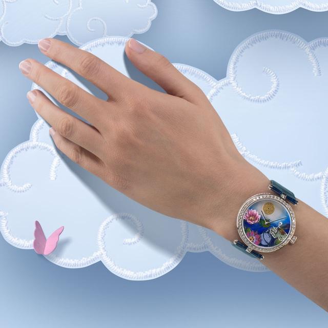 Van Cleef & Arpels: những kiệt tác đồng hồ trang sức - Ảnh 10.