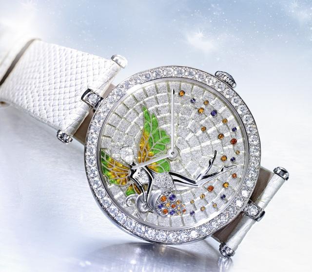 Van Cleef & Arpels: những kiệt tác đồng hồ trang sức - Ảnh 5.