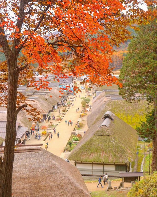 Làng cổ Ouchi-juku: trọn vẹn 4 mùa Nhật Bản - Ảnh 3.