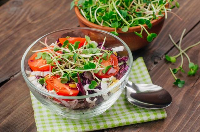 Vì sao nên thường xuyên ăn rau mầm? - Ảnh 2.