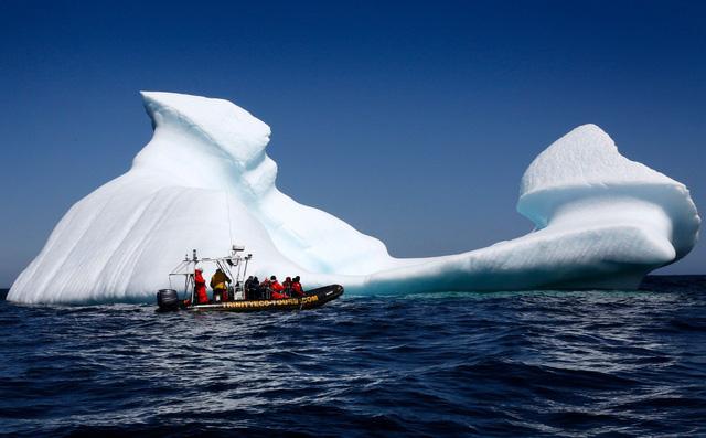 Ngắm băng trôi ở Newfoundland và Labrador - Ảnh 13.