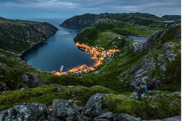 Ngắm băng trôi ở Newfoundland và Labrador - Ảnh 1.