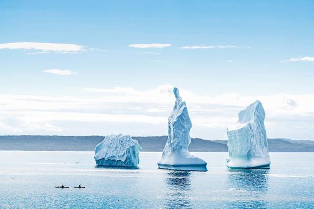 Ngắm băng trôi ở Newfoundland và Labrador - Ảnh 12.