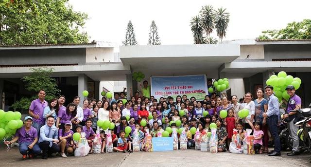 Cùng Oriflame góp sức mang xuân đến với làng trẻ em SOS Việt Nam - Ảnh 1.