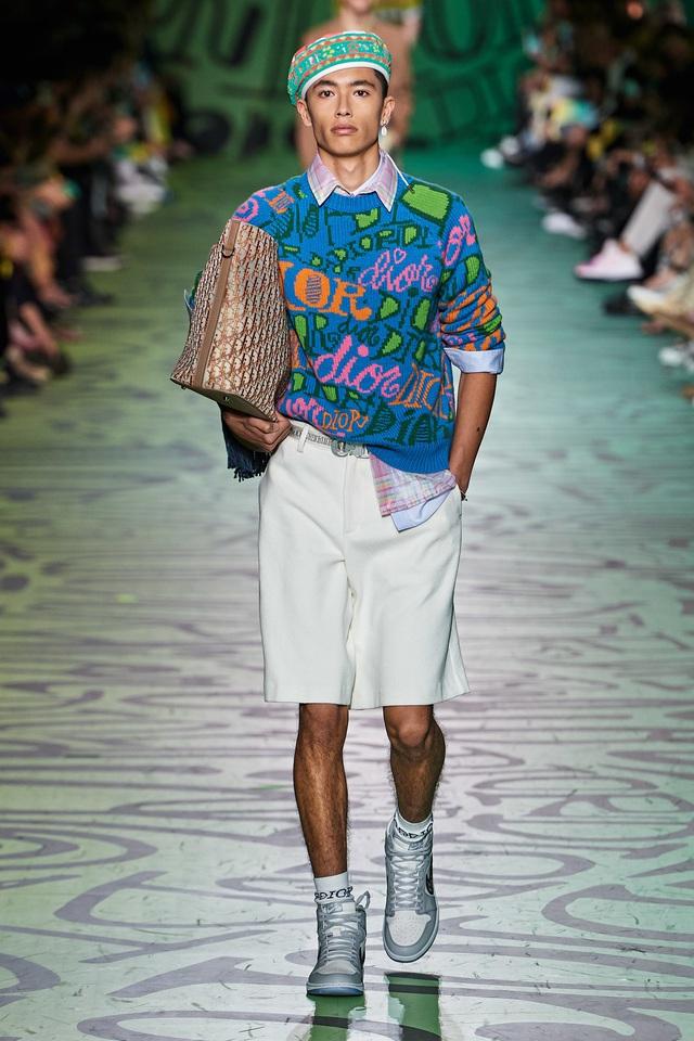BST pre-fall 2020 dành cho nam giới của Dior: sắc màu biển nhiệt đới - Ảnh 1.