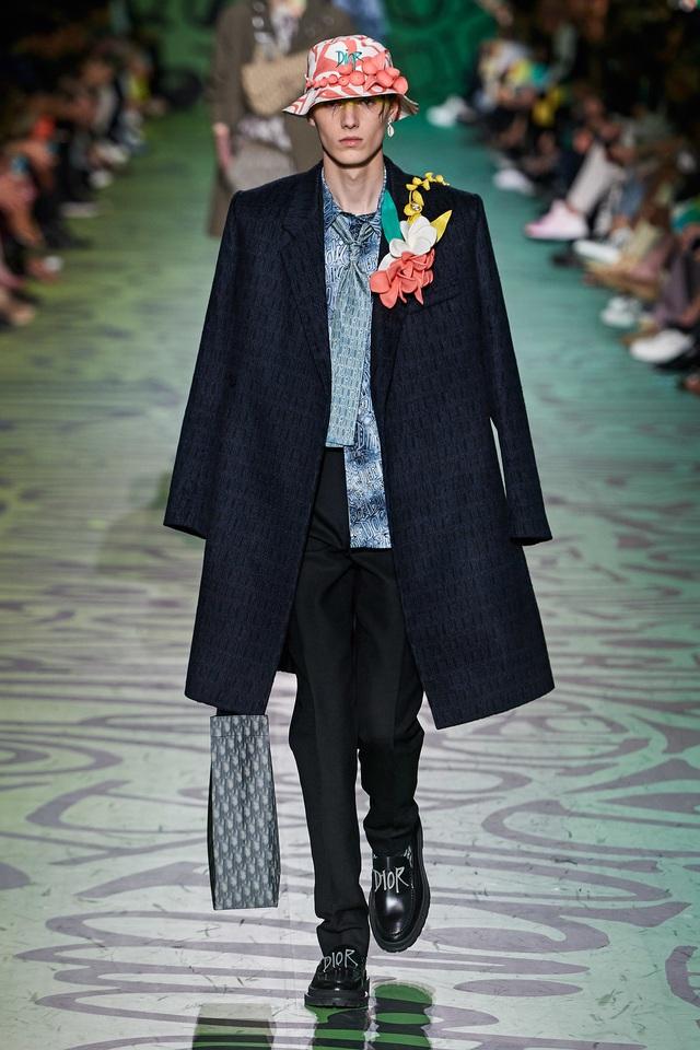 BST pre-fall 2020 dành cho nam giới của Dior: sắc màu biển nhiệt đới - Ảnh 14.