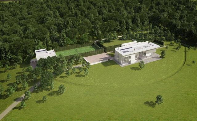 Ngắm nhìn ngôi nhà từng được giải thưởng kiến trúc của Mr Bean - Ảnh 1.