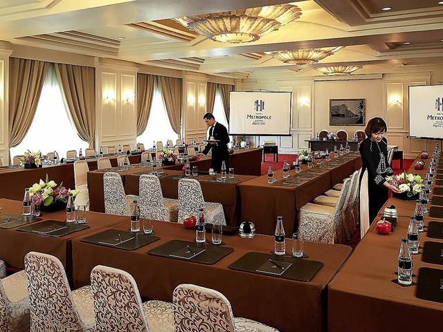 Cận cảnh khách sạn Sofitel Legend Metropole Hà Nội trước giờ G - Ảnh 10.