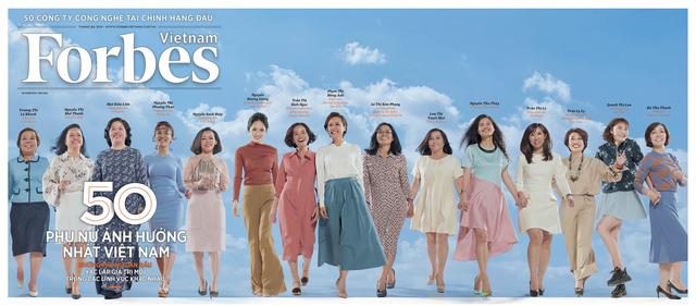 50 phụ nữ ảnh hưởng nhất Việt Nam 2019 theo Forbes - Ảnh 1.