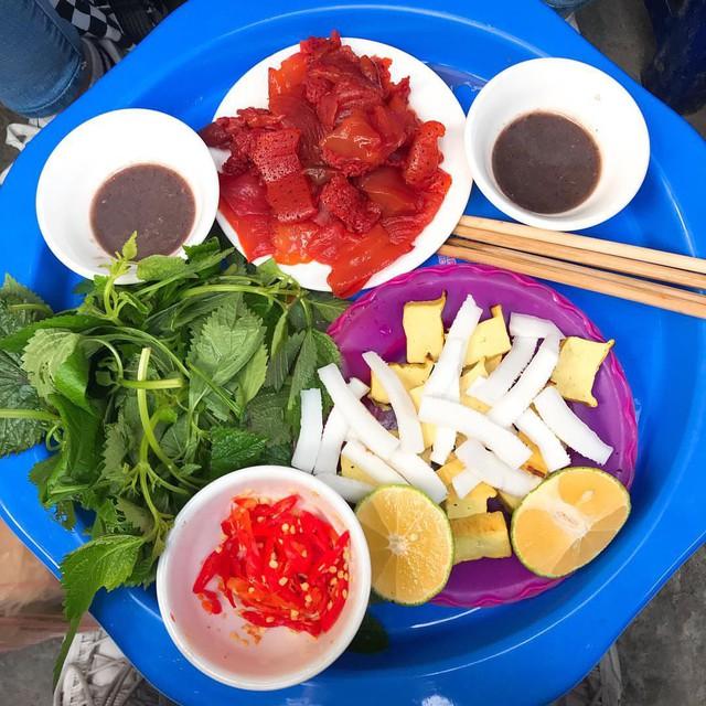 Sứa đỏ: món shasimi của riêng miền Bắc - Ảnh 2.