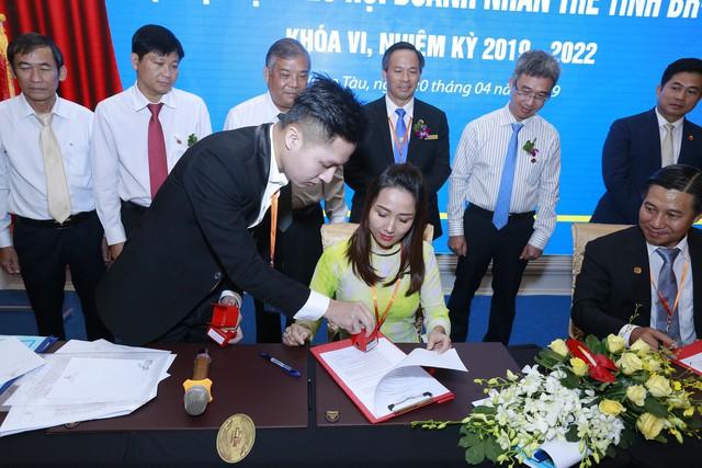 Lễ ký kết hợp tác xúc tiến thương mại 3 bên NetViet International - DN trẻ BRVT - VietCham - Ảnh 2.