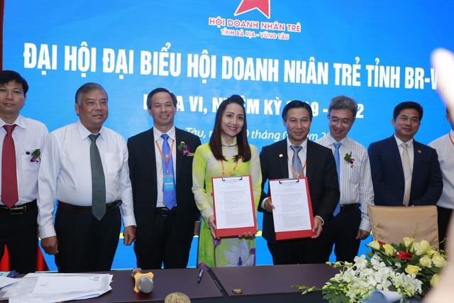 Lễ ký kết hợp tác xúc tiến thương mại 3 bên NetViet International - DN trẻ BRVT - VietCham - Ảnh 3.