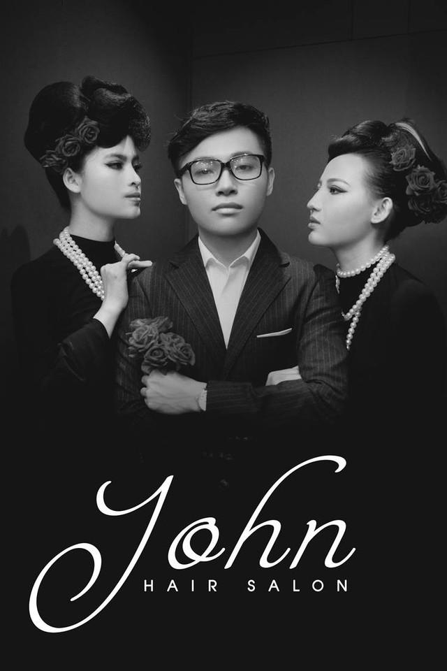 Nhà tạo mẫu tóc John Phan vinh dự được mời tham gia Đại hội Doanh nhân trẻ Bà Rịa - Vũng Tàu - Ảnh 4.