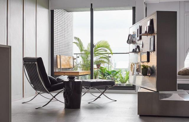 Sự kết hợp giữa cổ điển và hiện đại trong căn hộ 2 phòng ngủ - Ảnh 4.
