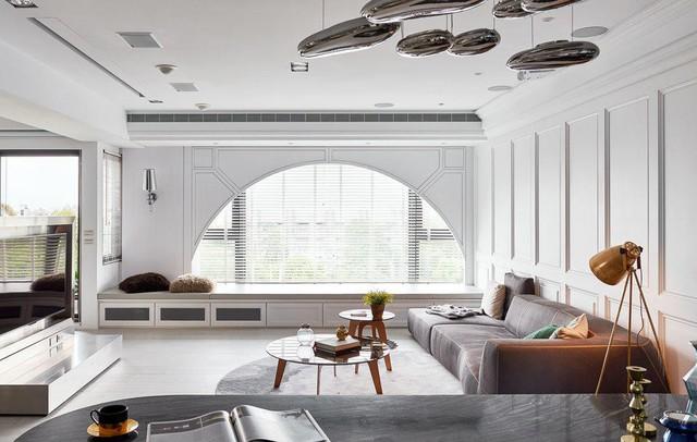 Sự kết hợp giữa cổ điển và hiện đại trong căn hộ 2 phòng ngủ - Ảnh 1.