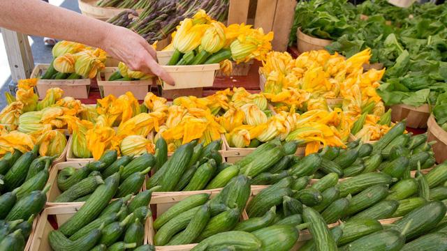 Thực phẩm sạch và chợ phiên nông sản - Ảnh 3.