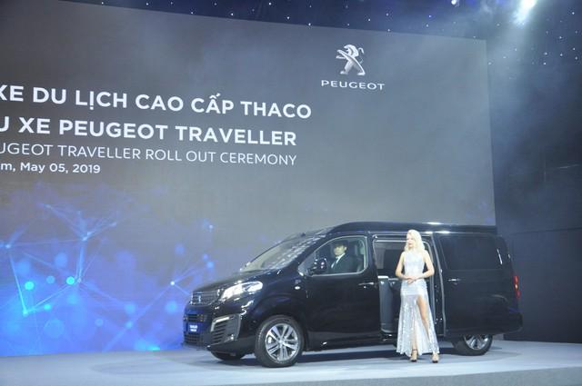 Thaco chính thức ra mắt mẫu xe Peugeot Traveller - Ảnh 2.