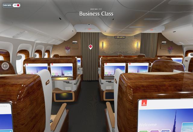 Ưu đãi hạng thương gia của Emirates - Ảnh 1.