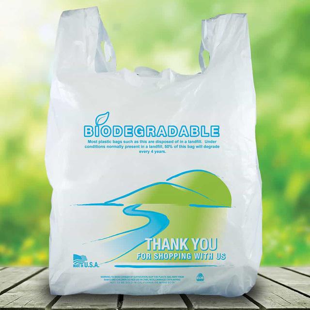 Chọn đúng túi phân hủy sinh học - Ảnh 1.