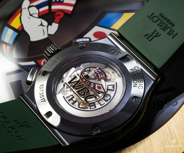 Chiếc đồng hồ Hublot độc bản khắc dòng chữ Việt Nam - Ảnh 3.