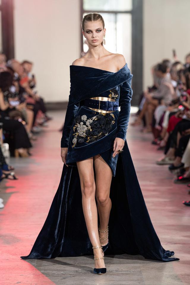 BST Haute Couture Thu - Đông 2019 của Elise Saab: phương Đông huyền bí - Ảnh 11.